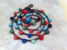 A personal favorite from my Etsy shop https://www.etsy.com/listing/197775499/every-day-multi-colored-beaded-pretty
