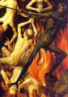 /// Hans Memling Judgement Detail of hell panel.