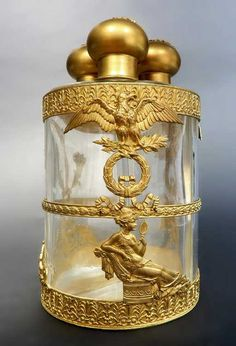Lot: 19th C French Bronze & Baccarat Crystal Perfume Bottles, Lot Number: 0211, Starting Bid: $800, Auctioneer: Royal Antiques, Auction: End of Year Sale, Date: December 21st, 2017 EST