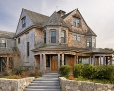 Traditional Exterior Design, Pictures, Remodel, Decor and Ideas - page 56 Nantucket shingle Victorian