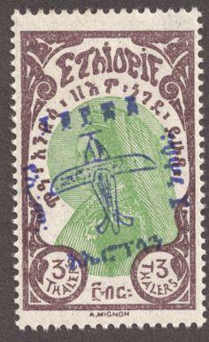 Big Blue 1840-1940: Ethiopia More about #stamps: http://sammler.com/stamps/ Mehr über #Briefmarken: http://sammler.com/bm