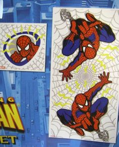 Bathroom decor on pinterest bathrooms decor shower for Spiderman bathroom ideas