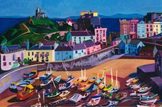 tenby tide out - Michelle Scragg