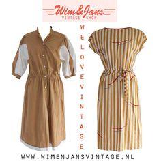 Vintage jurk Vintage Fashion! Je vindt het allemaal bij ons: Www.wimenjansvintage.nl