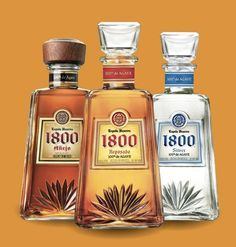 Tequila is an agave-based spirit made primarily in the area surrounding Tequila, 65 kilometres mi) in the northwest of Guadalajara and i. Tequila 1800, Tequila Bottles, Alcohol Bottles, You And Tequila, Agave, Passion Fruit Juice, Raspberry Liqueur, Tequila Shots, Jose Cuervo