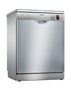 Bosch Serie 2 Full Size Dishwasher With Activewater™ Technology - Silver - Ilver -
