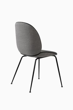 Gubi Beetle Chair With Fabric Black Base | From AmbienteDirect - Germany's leading online retailer for all lovers of classic and modern Interior Design. | ambientedirect.com @ambientedirect
