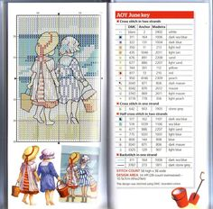 ru / Фото - The world of cross stitching 172 + приложение 2011 All Our Y - Chispitas Cross Stitch Sea, Cross Stitch For Kids, Cross Stitch Boards, Cross Stitch Designs, Cross Stitch Patterns, Cross Stitching, Cross Stitch Embroidery, Cross Stitch Pictures, Kids Patterns