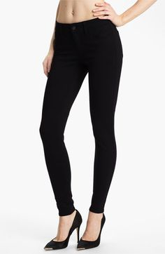 Joe's Skinny Ponte Knit Pants | Nordstrom  Buy one size larger and have super cute knit maternity pants