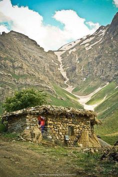 Beautiful vilge house in kurdistan with amazing view