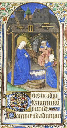 Book of Hours, MS M.1003 fol. 75r - Images from Medieval and Renaissance Manuscripts - The Morgan Library & Museum