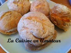 La cuisine en amateur de Maryline: petits pains