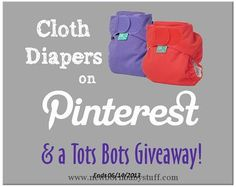 Baby Accessories Article about Cloth Diapers on Pinterest from Thinking About...