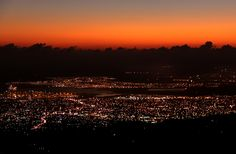 Night falls over Kingston Kingston Jamaica, Fall Over, Celestial, Explore, Sunset, Night, Outdoor, Sunsets, Outdoors