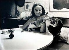 Barbara Hepworth in 1969 by Jorge ('J. Modern Sculpture, Sculpture Art, Barbara Barbara, Famous Sculptures, Tango Dance, Barbara Hepworth, English Artists, Modern Artists, Portrait Photography