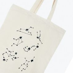 More details about the Constellations embroidery pattern:  DMC embroidery floss colors needed: 310Please note: If magic sheets are referenced in the pattern instructions, please be aware that they are coming soon. You can substitute magic sheets by using a light box technique with a DMC water soluble embroidery pen or by using tracing paper.