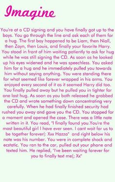Alright this is my first imagine ever! Hope you like it(: