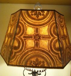 Parchment Lampshade