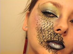 Reptile, Halloween makeup!