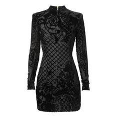 Balmain x H&M las 110 piezas de la colaboración ❤ liked on Polyvore featuring dresses