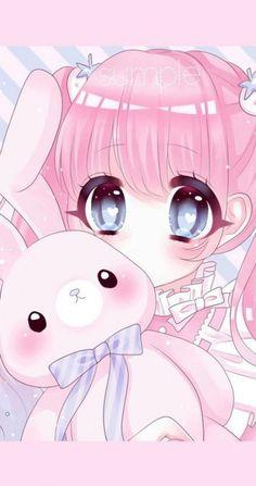 New Drawing Art Girl Kawaii Ideas Cute Anime Chibi, Cute Anime Pics, Anime Girl Cute, Anime Neko, Kawaii Anime Girl, Anime Art Girl, Anime Girls, Cute Kawaii Girl, Loli Kawaii