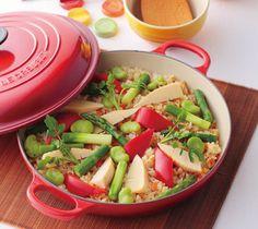 春野菜ご飯の作り方