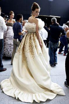 Giambattista Valli Haute Couture F/W 2011 - Backstage