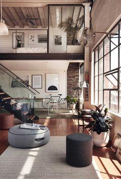 Inspirerend: een industriële loft in Australië - MakeOver.nl