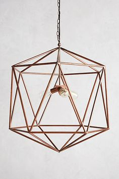 Euclidean Pendant, Faceted Orb - anthropologie.com