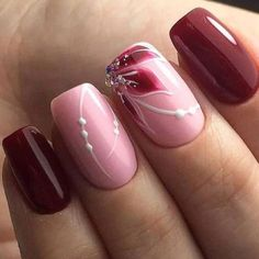 Nageldesign neue Modelle 2018 – Beste Trend Mode Nageldesign neue Modelle 2018 Christmas nails are that necessary component of your good vacation look. Beautiful Nail Designs, Beautiful Nail Art, Cool Nail Designs, Toe Nail Art, Acrylic Nails, Nagellack Trends, Latest Nail Art, Flower Nails, Stylish Nails