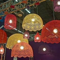 1 million+ Stunning Free Images to Use Anywhere Recycled Paper Crafts, Jute Crafts, Crochet Crafts, Handmade Crafts, Diy And Crafts, Lampe Crochet, Palm Tree Crafts, Doily Lamp, Shabby Chic Lamps