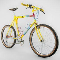 Salsa from 1982 vintage mountain bike Mens Mountain Bike, Mountain Biking, Vintage Bikes, Retro Vintage, Retro Bikes, Bicycle Maintenance, Bicycle Design, Road Cycling, Custom Bikes