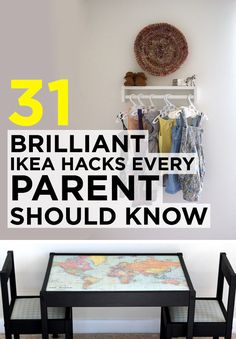 31 Brilliant Ikea Hacks Every Parent Should Know - These are the best I have seen! I want to do all of them!