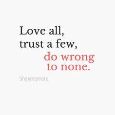 Love all.