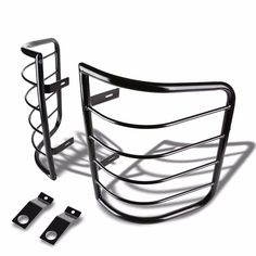 Aries 6048 Black Carbon Steel Grille Guard for 03-10 Honda