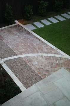 very cool - love the mixing of pavement materials