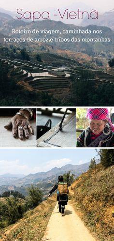Aventure-se pelas montanhas de Sapa, Vietnã. Como planejar seu roteiro de viagem para Sapa, guia para as caminhas nos terraços de arroz, hospedagem em casa de família e muito mais. Dicas, recomendações e tudo que você precisa saber antes de viajar para o Vietnã e para as montanhas Sapa. via @loveandroad