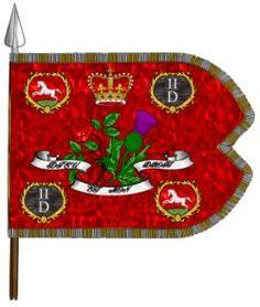 2nd Dragoons - King's Standard.
