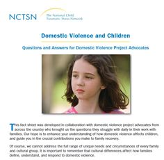 how does domestic violence affect children essay The effects of domestic violence on children how many children witness the abuse of their mothers studies show that 3-4 million children between the ages of 3-17 are at risk of exposure to domestic violence each year us government statistics say that 95% of domestic violence cases involve women victims of male partners.