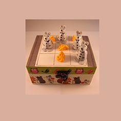 Jeu enfant, bois, Tic Tac Toé ou morpion, Souris Fromages : Jeux, jouets par ludifimo