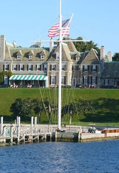 The gorgeous New York yacht club in Newport Rhode Island.