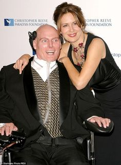 Dedicated till the end: Seen her together in 2003, Christopher and wife Dana were avid supporters of their foundation. The star passed away ...