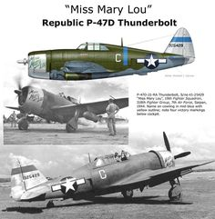 """P-47D """"Miss Mary Lou"""""""