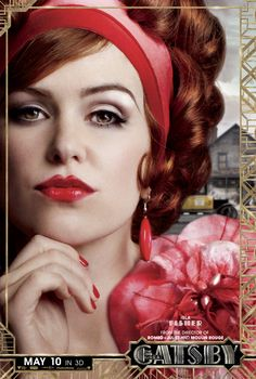 #IslaFisher is the vivacious #MyrtleWilson in #TheGreatGatsby.