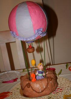 Caketown: Tort dziewczynka w balonie