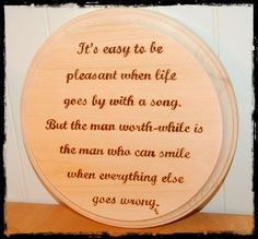 CUSTOM-made plaque with inspirational saying by BeautifulPursuits