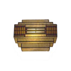 Found it at Wayfair - Mission/Prairie Series 1 Light Wall Sconce
