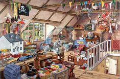 """""""Grandma's Attic"""" ~ The Dalmore Collection 1000 Piece"""