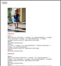 Baby Pop, Barbie Clothes, Knitting Patterns, Bebe, Hand Crafts, Cable Knitting Patterns, Knit Patterns, Knitting Stitch Patterns