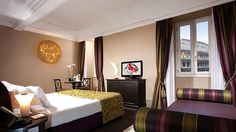 4/ Palazzo Manfredi – Rome Only 16 rooms in total, all with view on the Colosseum from the bed or bathroom.